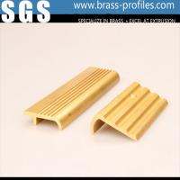 Wholesale Metal Stair Edge Nosing Sheet Copper Alloy Stair Strip for Floor Edge from china suppliers