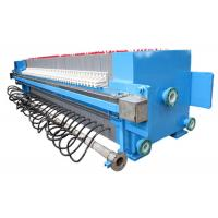 Wholesale Automatic Chamber Filter Press For Slurry Treatment , 2000L 1250 Mm Plate Size from china suppliers