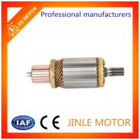 Wholesale JINLE 100% Copper Wire 24 Volt Starter Motor Armature / Starter Motor Assembly from china suppliers