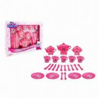 Wholesale 24 Pieces Pearl Tea Set Toy, EN71-1.2.3 Test Standard from china suppliers