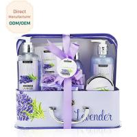 Wholesale Cleaning Body Bath Gift Sets Lavender Purple Soothing Feature Eco - Friendly from china suppliers