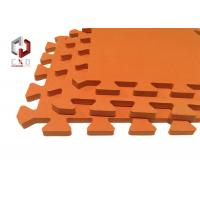 Wholesale Anti-slip Embedded ECO Yoga Mat Piece With Pattern For Household from china suppliers