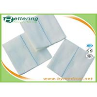 Wholesale Medical Cotton Gauze Swabs Absorbent sterile gauze sponge pads100% Cotton Safe Medical Dressing pads with X-RAY line from china suppliers