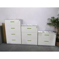 To offer white coler vetical filing cabinet/knocked down structure/powder coating treatment/anti-tilt device