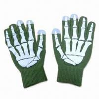 Wholesale Touch Screen Knitted Gloves, Customized Designs are Accepted from china suppliers