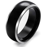 Wholesale New Super Fashion Tagor Jewelry Factory Ceramic Tungsten Series Ring TYWR053 from china suppliers