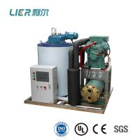 China 5T Bitzer Seawater Flake Ice Machine , GEA compressor with CE approval on sale
