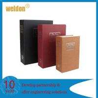 Wholesale Sturdy construction fake cover steel dictionary diversion book safe hollow book lock & key from china suppliers