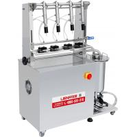 China Semi Automatic Glass Bottle Vacuum Perfume Filling Machine from LIENM on sale
