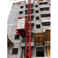 Wholesale Dipping Zinc Spray Paint Safety Control System Building Cage Hoist Single Cage from china suppliers