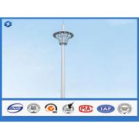 Wholesale Hot Dip Galvanized Monopole cell Tower Steel Telecommunication Pole 20 - 50m Height from china suppliers