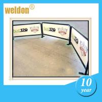 Wholesale Outdoor Indoor Horizontal metal frame breeze barrier Stand Display for Crowd Control from china suppliers