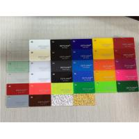 Wholesale Orange Yellow Extruded Coloured Plexiglass Acrylic Sheet Thickness 1mm - 500mm from china suppliers
