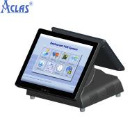 Buy cheap All In One PC POS With Best Price,Touch Screen POS,Black Restaurant Cash Register from wholesalers
