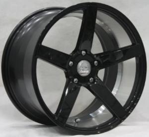 China BC62 BENZ TOYOTA AUDI MAZDA KIA 19*8.5 20*9 10.5 Deep Concave cast wheel Black rim on sale