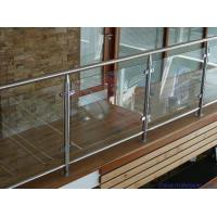 Wholesale 10mm 12mm 15mm Custom Clear Safety toughen Glass for Balcony Railings from china suppliers