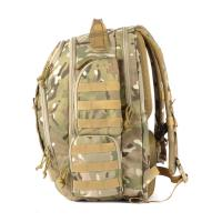 Quality Outdoor Army Style Backpack , 36-55L Tactical Molle BaG For Training Hiking Camping for sale