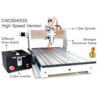 Wholesale Assembly USB 3 Axis Advanced CNC Router 6040 / 1.5KW Spindle 2.2KW Invert CNC Engraver Machine from china suppliers
