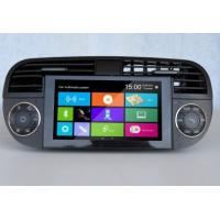 Wholesale 6.2 Inch Digital Fiat 500 DVD Player , Car USB DVD Navigation System FT-6210GD from china suppliers