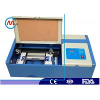Wholesale Acrylic Leather Mini Laser Cutter Machine Portable Laser Cutter 40w / 60w from china suppliers