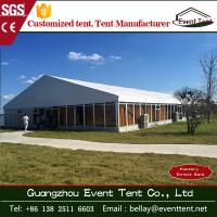 Wholesale 100% waterproof professional large marquee tent with glass wall 40x80m from china suppliers