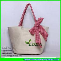 Wholesale LUDA 2014 hotsale rural cute bowknots straw beach bags from china suppliers