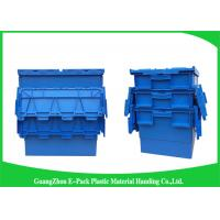 Quality Warehouse Plastic Storage Bins With Lids , 600 * 400 * 315mm Customized Storage Plastic Boxes for sale