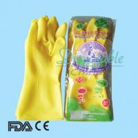 Wholesale Cheap household latex gloves with long cuff/sleeve from china suppliers