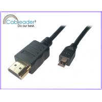 Wholesale HDMI to Micro HDMI cables A Type Male To D Type Male for Mobile,digital cameral suport 3D,1080p from china suppliers