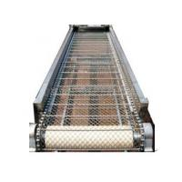 Wholesale Flat Metal Net Chain Roller Conveyor system for FET Bottle , Cartons , Cans work line from china suppliers