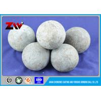 Wholesale Industrial Low Chrome cast grinding steel balls for poland cement Plant from china suppliers