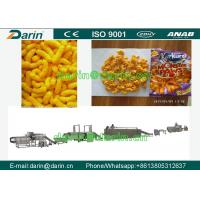 Wholesale Automatic Double Screw Food Extruding machine for Cereal Corn Snacks from china suppliers