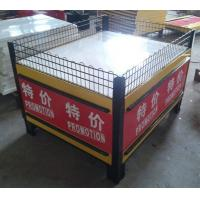 Wholesale Folding Metal Promotion Supermarket Display Racks With Powder Coated SGS ISO9001 from china suppliers