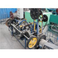 Wholesale Single Twisted Razor Wire Making Machine  , Small Volume Barbed Wire Manufacturing Machine from china suppliers