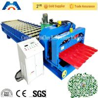 Wholesale Aluminium Corrugated Sheet Roll Forming Machine For 0.3 - 0.7mm Roof Tile from china suppliers
