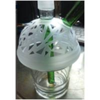Wholesale stock nice cheap glass bong / china factory price glass bong from china suppliers