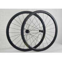 Wholesale 38mm Tubular Carbon Road Bike Wheels Less Affected By Crosswinds WH-RT38S from china suppliers