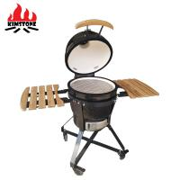 China Home garden folding 21 inch stainless steel ceramic  kamado bbq grills for sale on sale