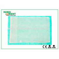 Wholesale Customized Disposable Bed Sheets Nonwoven Fabric Pillow Cover , CE / ISO Approved from china suppliers