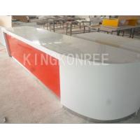 Wholesale acryic solid surface high gloss modern work counter from china suppliers