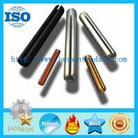 Buy cheap Zinc Plated Slotted Spring Pin,Black oxide roll pin,Copper roll pin,Spring steel roll pin,Spring steel dowel pin from wholesalers