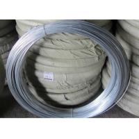 Wholesale Q195 Galvanised Iron Wire , Silver Mesh Weaving Galvanized Binding Wire from china suppliers