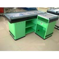 Wholesale Durable Retail 5 Feet / 60 Inch Supermarket Checkout Counter Rust Preventing With Hooks from china suppliers