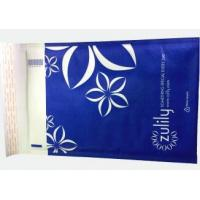 Quality White Color Kraft Bubble Mailer with full printing , Strong Hot Melt Adhesive for sale