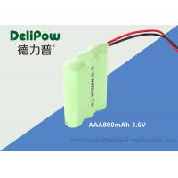 Wholesale Customized  Eco Friendly  800mha AAA 3.6V NIMH Rechargeable Battery Pack For Power Tools from china suppliers