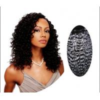 "Wholesale Natural Black 100 Indian Curly Human Hair 14"" - 28"" , Kinky Curly Human Hair from china suppliers"