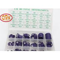Wholesale Moto Part High Pressure O Ring Box Direct Ozone / Sunlight Resistance 240Pcs 30 from china suppliers