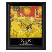 """Wholesale 16""""x20"""" Single Opening Wooden Galley Poster Frame In Solid Black Color from china suppliers"""