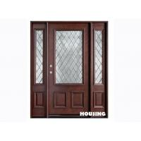Wholesale 40mm Door Leaf Solid Timber Door for Residential Building from china suppliers