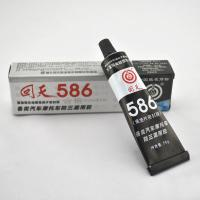 Wholesale No odor 586 Black rtv silicone sealant / black silicone gasket maker from china suppliers